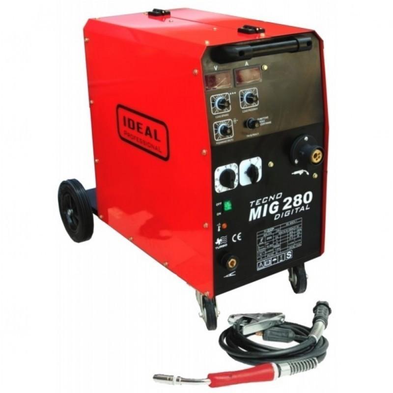 Ideal Półautomat Spawalniczy Tecnomig 280 4x4 Digital 250A